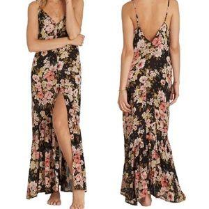 Billabong Floral Boho Maxi Dress